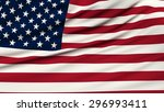 flag of united states. 3d...   Shutterstock . vector #296993411