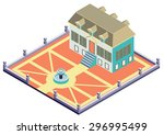 illustration of info graphic...   Shutterstock .eps vector #296995499