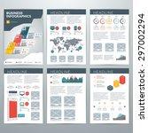 infographics vector concept.... | Shutterstock .eps vector #297002294
