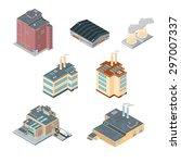 a vector illustration of a set...   Shutterstock .eps vector #297007337