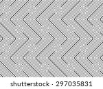 shades of gray z shapes... | Shutterstock .eps vector #297035831