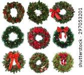 Wreath  Christmas  Holly.
