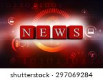 news icon | Shutterstock . vector #297069284