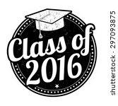 class of 2016 grunge rubber...