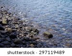 Water And Stones At The Shore