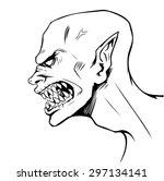 vector comics illustration of... | Shutterstock .eps vector #297134141