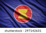 asean flag | Shutterstock . vector #297142631