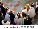First Holy Communion In Church...