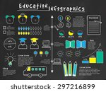 a big set of various... | Shutterstock .eps vector #297216899