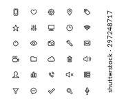 vector app icons | Shutterstock .eps vector #297248717
