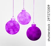 Purple Christmas Decoration...