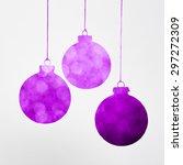 Purple Christmas Decoration...