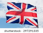 the union jack  the national... | Shutterstock . vector #297291335