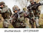 united states army rangers...   Shutterstock . vector #297294449