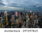 new york city  united states.... | Shutterstock . vector #297297815