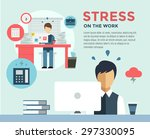 New Job Stress Work Infographi...