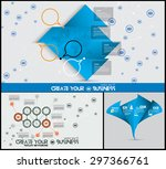 corporate infographics vector