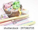 gift wrapping | Shutterstock . vector #297383735