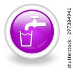 icon  button  pictogram with... | Shutterstock . vector #297384941