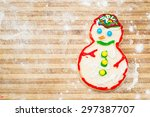 home made and decorated... | Shutterstock . vector #297387707