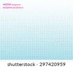 dot texture abstract vector... | Shutterstock .eps vector #297420959