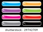 buttons for web  vector  | Shutterstock .eps vector #29742709