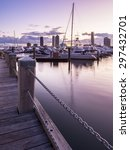 Portrait View Of A Pier With...