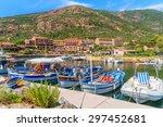 Porto Harbour  Corsica Island ...