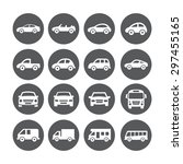 car icons | Shutterstock . vector #297455165