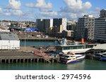 auckland new zealand dock and...   Shutterstock . vector #2974596