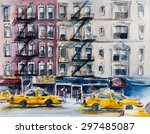 Busy New York Street....