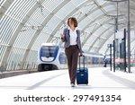 full length portrait of a...   Shutterstock . vector #297491354