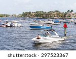fort lauderdale  usa   august... | Shutterstock . vector #297523367