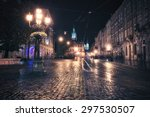 vintage style image of old...   Shutterstock . vector #297530507