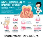 dental problem health care ... | Shutterstock .eps vector #297533075
