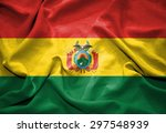 bolivia flag. illustration | Shutterstock . vector #297548939