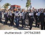 los angeles  california  usa ... | Shutterstock . vector #297562085