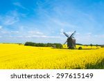 Old Windmill Surrounded By...