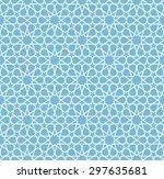 seamless islamic pattern of 10... | Shutterstock .eps vector #297635681