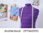 mannequin in office | Shutterstock . vector #297662051