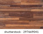 wood brown plank texture... | Shutterstock . vector #297669041