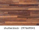 wood brown plank texture... | Shutterstock . vector #297669041