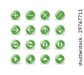 button set | Shutterstock .eps vector #29767711