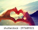 summer holidays background. | Shutterstock . vector #297689321