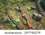 Soviet And German Rifles Of...