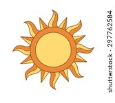 sun symbol | Shutterstock .eps vector #297762584