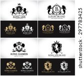 Crests Logo Collection Luxury...