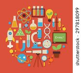 Science And Education Vector...