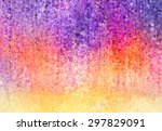 Abstract Violet  Red And Yellow ...
