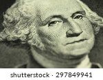a fragment of a denomination of ... | Shutterstock . vector #297849941
